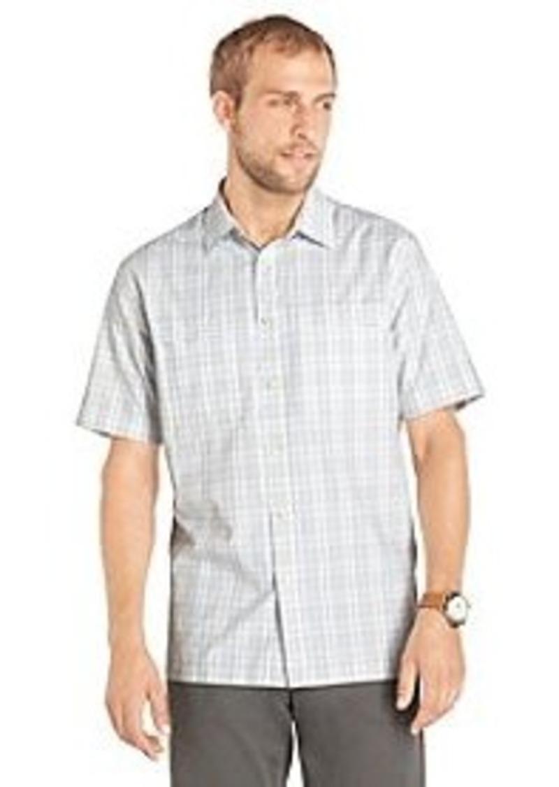 Van heusen van heusen men 39 s short sleeve plaid traveler for Van heusen plaid shirts