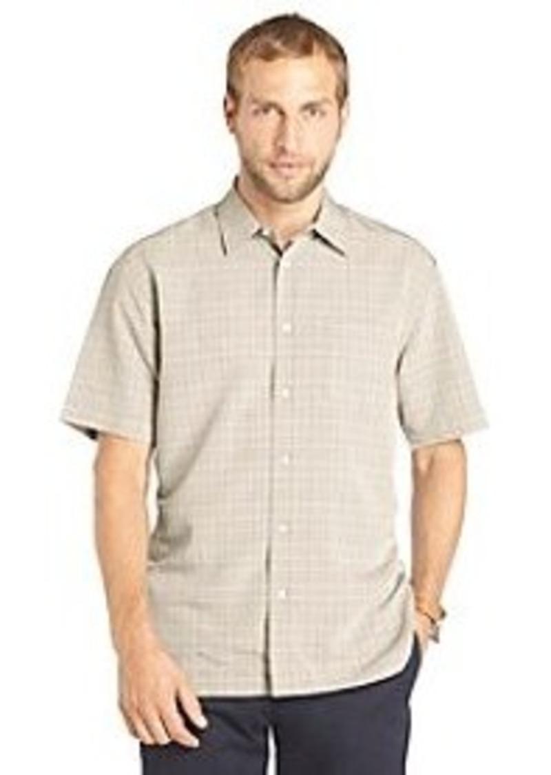 Van heusen van heusen men 39 s short sleeve plaid woven for Van heusen plaid shirts