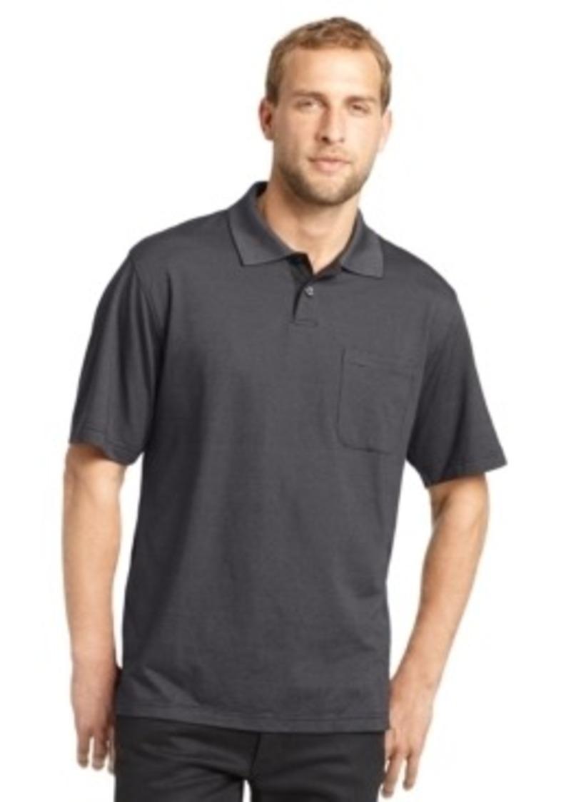 Van heusen van heusen big and tall printed feeder striped for Big and tall polo shirts on sale