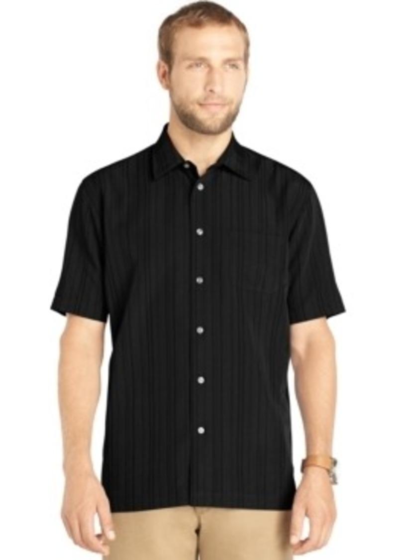 van heusen van heusen striped pocket short sleeve shirt