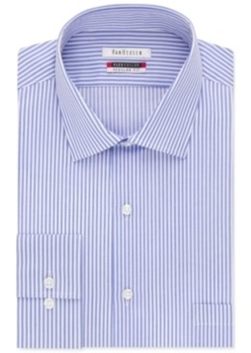 Van heusen van heusen men 39 s classic fit wrinkle free flex for Van heusen shirts flex collar
