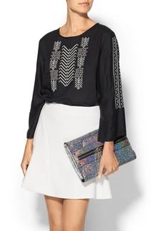 Velvet by Graham & Spencer Albany Embroidered Top