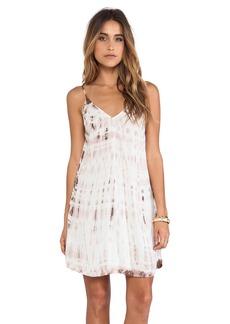 Velvet by Graham & Spencer Anatasi Tie Dye Rayon Voile Dress