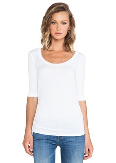 Velvet by Graham & Spencer Brandi Gauzy Whisper Top in White