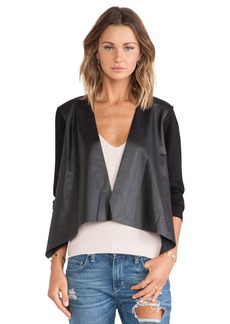 Velvet by Graham & Spencer Candy Ponti w/ Faux Leather Jacket