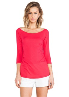Velvet by Graham & Spencer Cara Whisper Classic Top