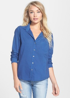 Velvet by Graham & Spencer Cotton Button-Down Shirt