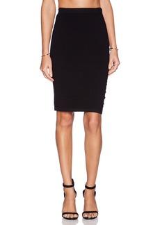 Velvet by Graham & Spencer Engineered Body Con Rayanne Skirt