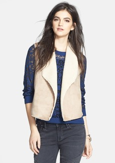 Velvet by Graham & Spencer Faux Shearling Vest (Nordstrom Online Exclusive)