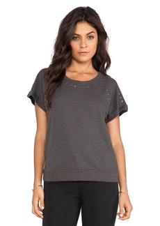 Velvet by Graham & Spencer French Prissy Terry Slub Tee