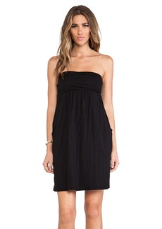 Velvet by Graham & Spencer Gauzy Whisper Alia Dress in Black