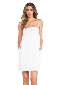 Velvet by Graham & Spencer Gauzy Whisper Alia Dress in White