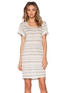 Velvet by Graham & Spencer Heather Stripe Linen Vika Dress