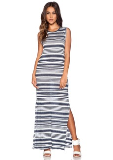 Velvet by Graham & Spencer Heather Stripe Linen Yuelle Dress