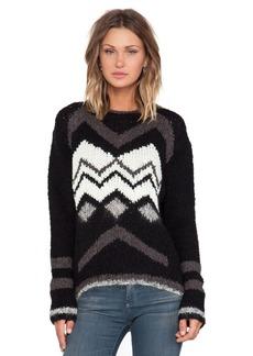 Velvet by Graham & Spencer Jubilee Chevron Sweater