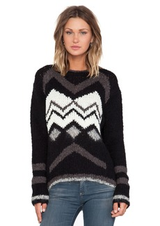 Velvet by Graham & Spencer Jubilee Chevron Sweater