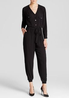 Velvet by Graham & Spencer Jumpsuit - Long Sleeve Button Down