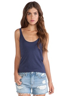 Velvet by Graham & Spencer Lee Cotton Slub Tank