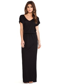 Velvet by Graham & Spencer Lizia Luxe Slub Maxi Dress