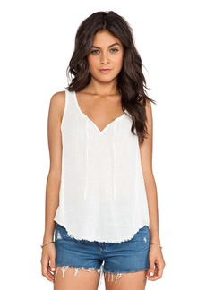 Velvet by Graham & Spencer Naya Sheer Jersey Tank