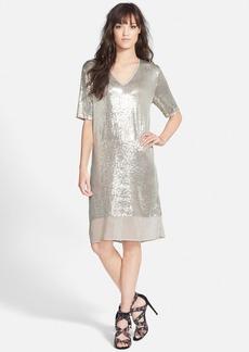 Velvet by Graham & Spencer Sequin Chiffon Dress