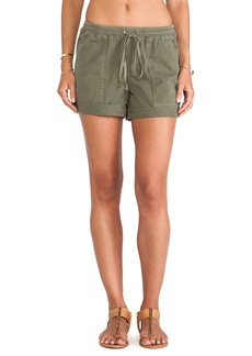 Velvet by Graham & Spencer Serena Cotton Twill Short