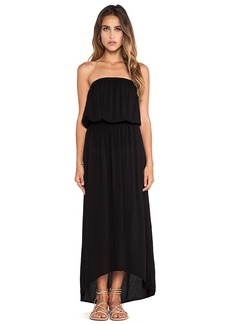 Velvet by Graham & Spencer Sibley Rayon Voile Dress in Black