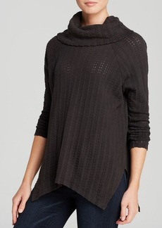 Velvet by Graham & Spencer Sweater - Exclusive Charcoal Thermal