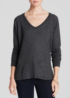Velvet by Graham & Spencer Sweater - Marnie Knit Metallic