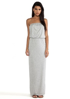Velvet by Graham & Spencer Tammie New Fine Slinky Dress in Gray