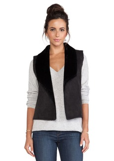 Velvet by Graham & Spencer Twiggy Faux Sherpa Vest