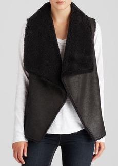 Velvet by Graham & Spencer Vest - Faux Fur