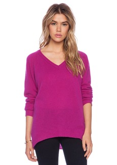 Velvet by Graham & Spencer Yoshi Cashmere Classic Sweater