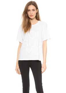 Vera Wang Collection You Bug Me T-Shirt