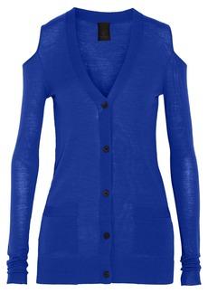 Vera Wang Cutout wool cardigan