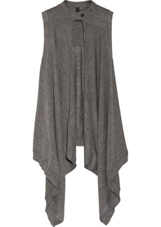 Vera Wang Draped fine-knit wool vest