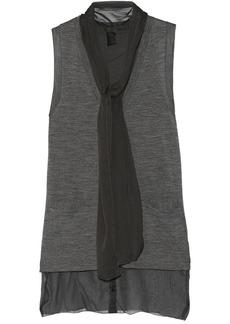 Vera Wang Fine-knit wool vest