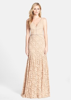Vera Wang Lace Mermaid Gown