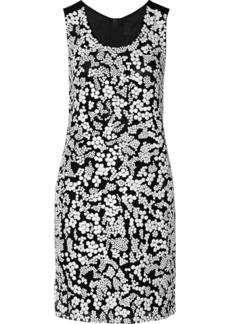 Vera Wang Sequin-embellished tulle dress