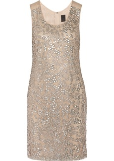 Vera Wang Sequin-embellished tulle dress