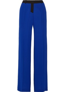 Vera Wang Silk wide-leg pants