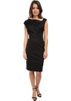 Vera Wang Stretch Viscose Asymmetrical Dress