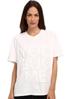 "Vera Wang ""You Bug Me"" T-Shirt"