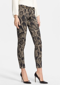 Versace Collection Animal Print Tech Cady Pants