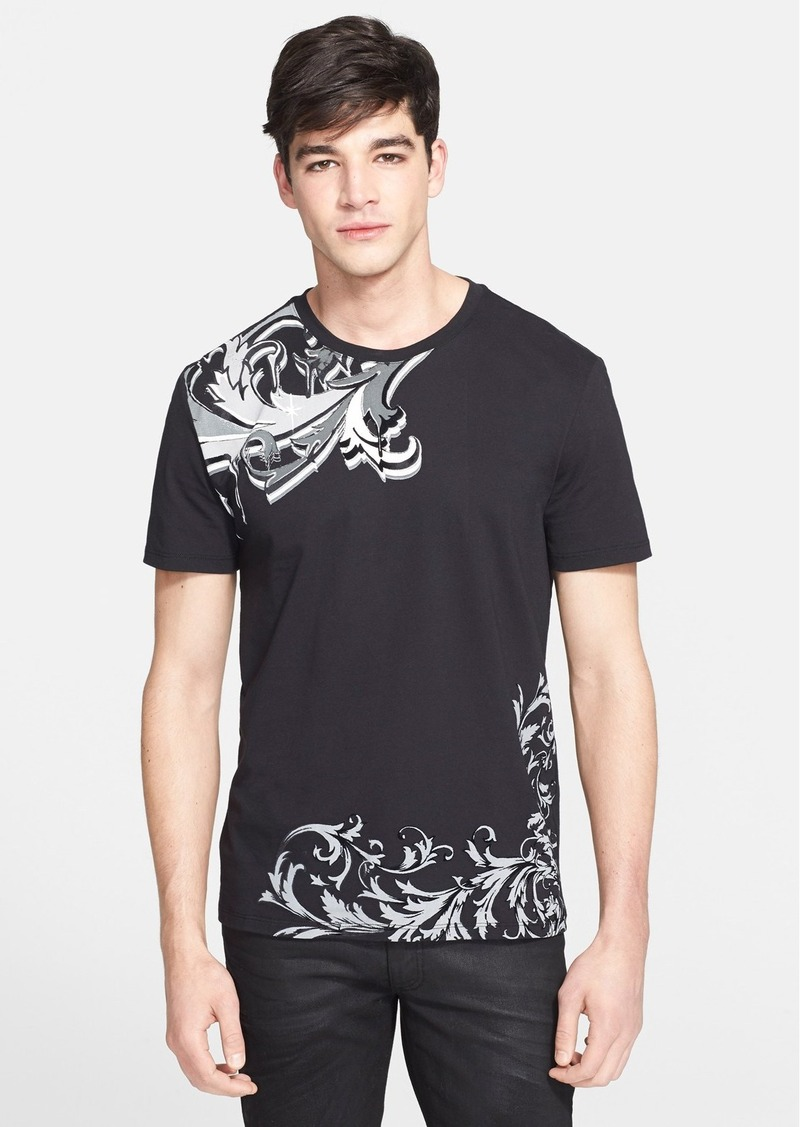 versace versace collection baroque print t shirt t shirts shop it to me. Black Bedroom Furniture Sets. Home Design Ideas