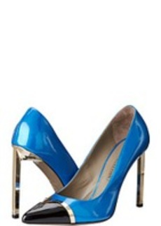 Versace Collection Capped Toe Colorblock Stiletto