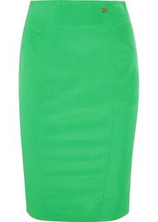 Versace Collection Faille pencil skirt