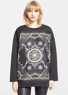 Versace Collection Print Neoprene Sweatshirt