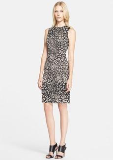 Versace Collection Print Tech Jacquard Dress