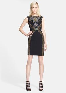 Versace Collection Sleeveless Beaded Dress